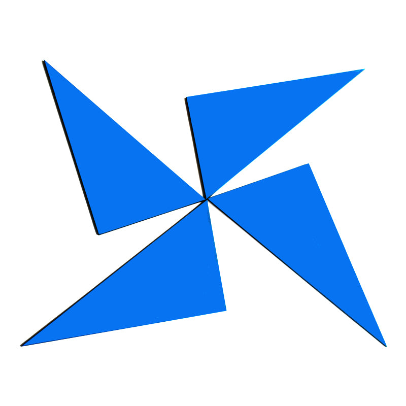 Blue Triangle Box