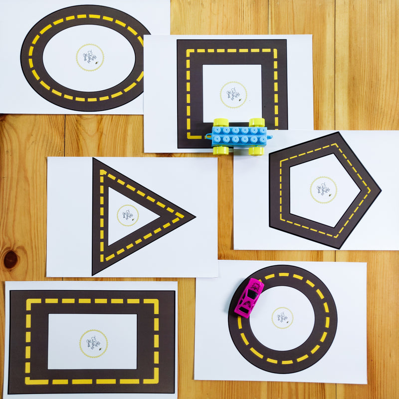 Trace the Shapes Game | Preschoolers | Age 2.5 Years+