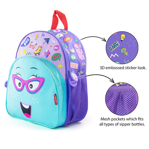 Rabitat Smash School Bag - Chatter Box | Kids Backpack