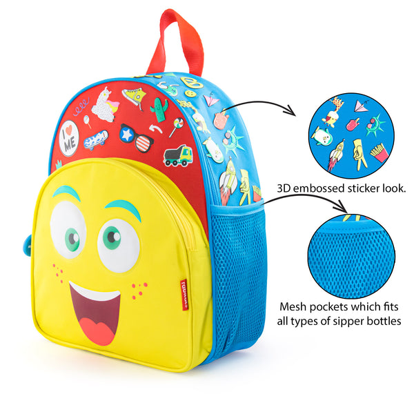 Rabitat Smash School Bag - Mad Eye | Kids Backpack