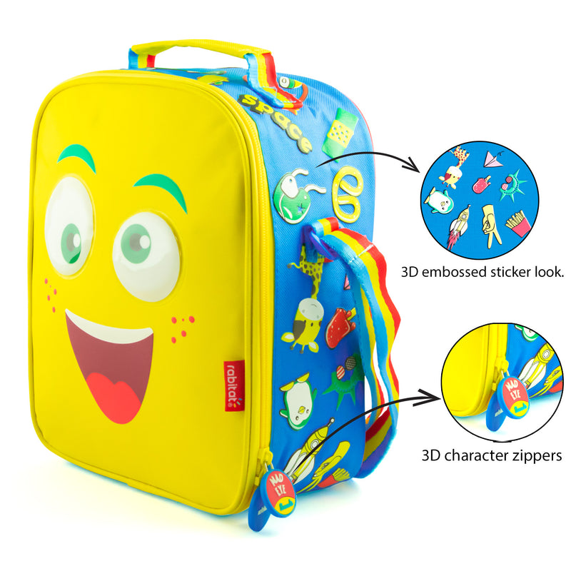 Rabitat Insulated Lunch Bag - Mad Eye | Kids Lunch Bag/Box