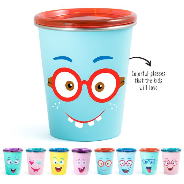 Rabitat Spill Free Stainless Steel Cup - Shyguy | Kids Cups+Bottles