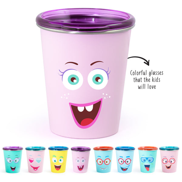 Rabitat Spill Free Stainless Steel Cup - Miss Butter | Kids Cups+Bottles