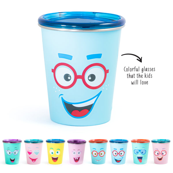 Rabitat Spill Free Stainless Steel Cup - Sparky - Kids Cups+Bottles