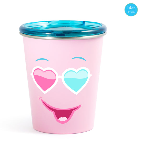 Rabitat Spill Free Stainless Steel Cup - Diva | Kids Cups+Bottles