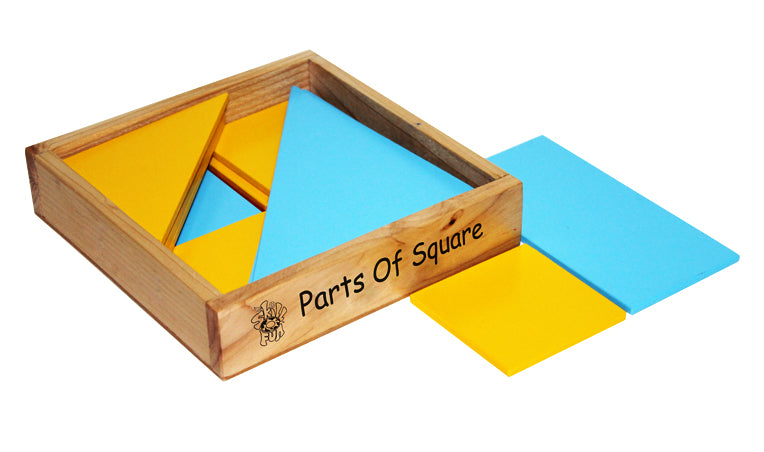 Parts of Square | Puzzles & Games