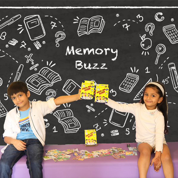 Memory Buzz - Educational & Learning - 3- 7 Years