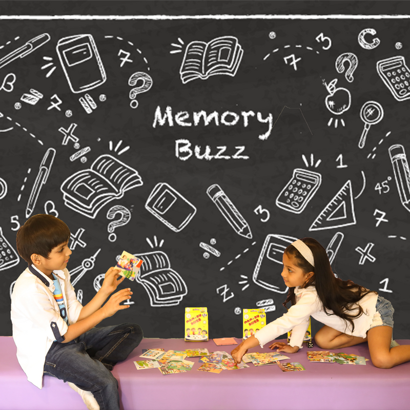 Memory Buzz | Educational & Learning | 3- 7 Years