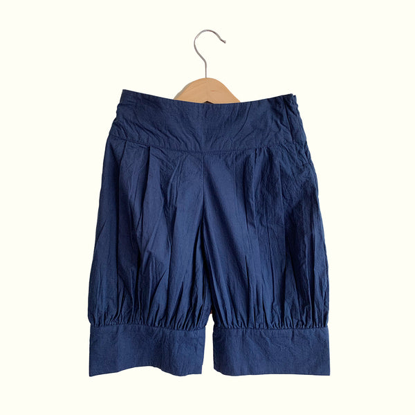 Mia Puffed Shorts ( Navy)- Girls Casual Wear