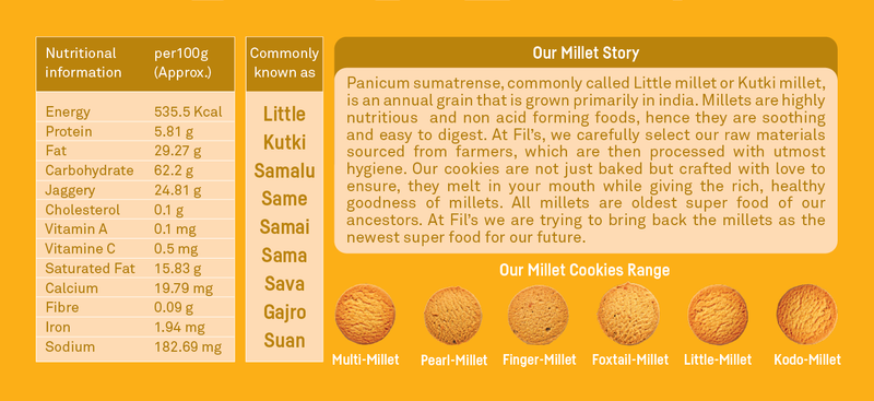 Little Millet Cookies themumsshop