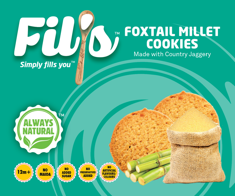 Foxtail Millet Cookies themumsshop