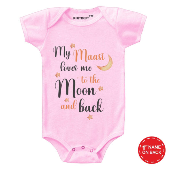 My Maasi Loves Me Baby Wear | Personalised Baby Onesie