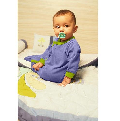 Snuggle Me Baby Sleepsack - Navy And Kiwi | Baby Sleeping Bag