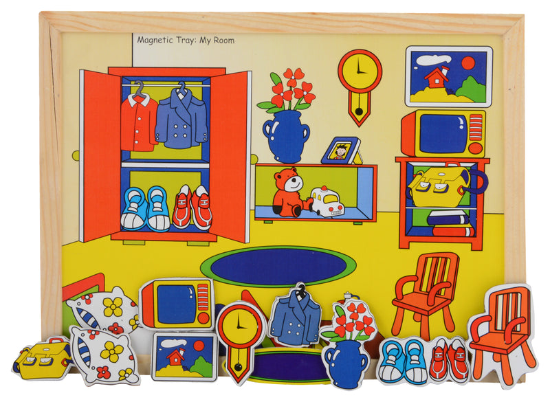 Magnetic Twin Play Tray The Room-Toys-THE MUM SHOP