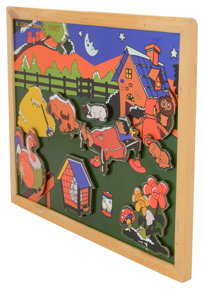Magnetic Twin Play Tray A Cool Summer Night-Toys-THE MUM SHOP
