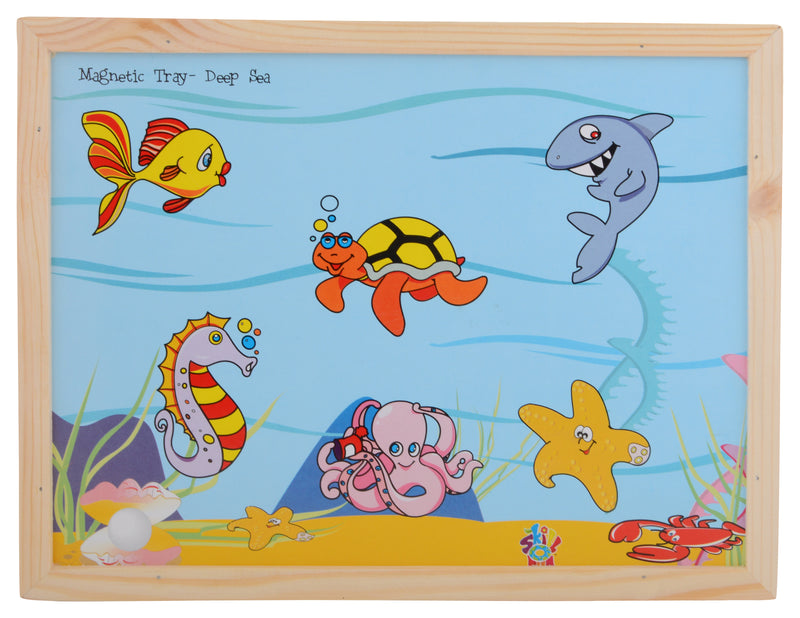 Magnetic Twin Play Tray Deep Sea-Toys-THE MUM SHOP