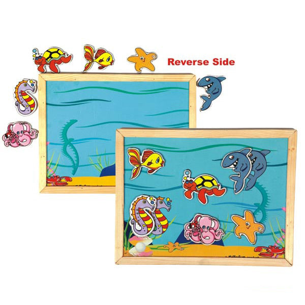 Magnetic Twin Play Tray – Deep Sea | Puzzles & Games