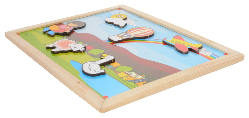 Magnetic Twin Play Tray Rainbow Scene-Toys-THE MUM SHOP