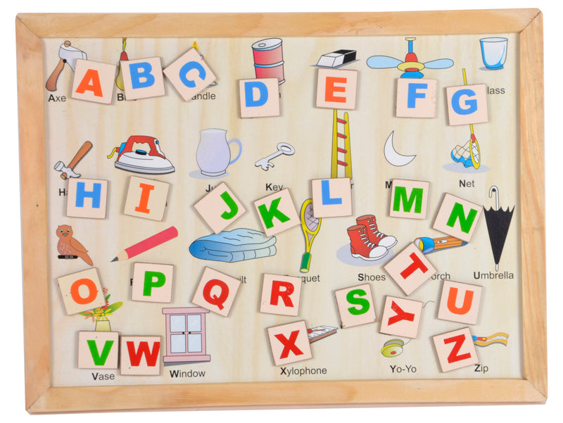 Magnetic Twin Play Tray Alphabet Attic-Toys-THE MUM SHOP