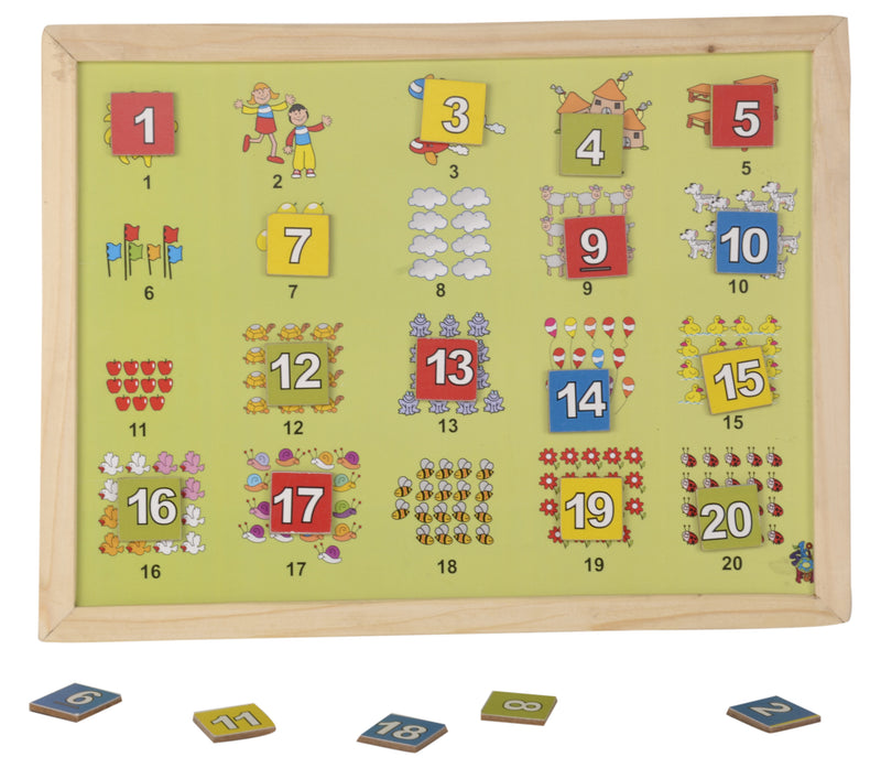 Magnetic Twin Play Tray Number Scene (120)-Toys-THE MUM SHOP