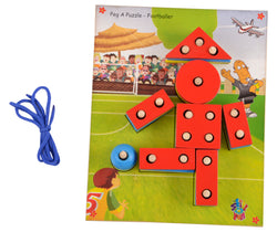 Peg A Puzzle Footballer-Toys-THE MUM SHOP