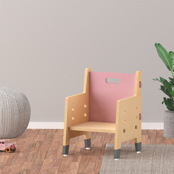 Kids Furniture Purple Mango Weaning Chair - Pink