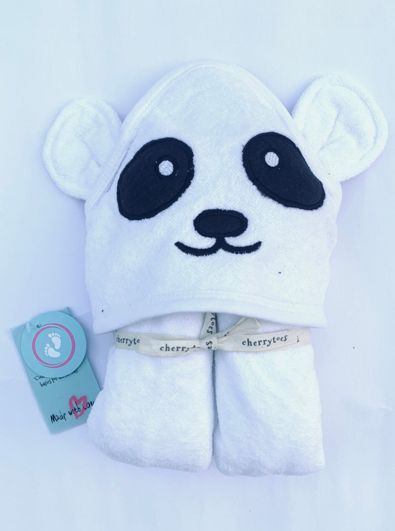 Baby Hooded Towel - Panda | Towels & Wrappers