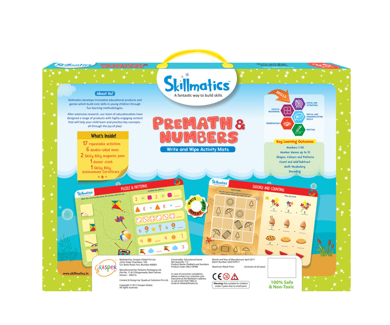 PreMath and Numbers themumsshop