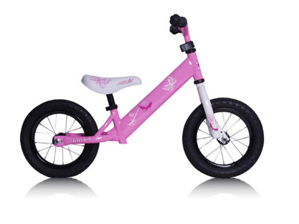 Butterfly Pink Air Tyre - Kids Cycles