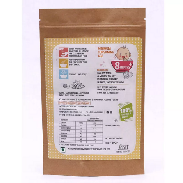 SPROUTED RAGI AND MOONG DAL MIX themumsshop