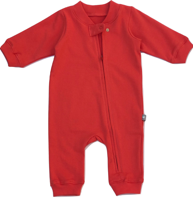 Cherry Zip Romper | Baby Clothes
