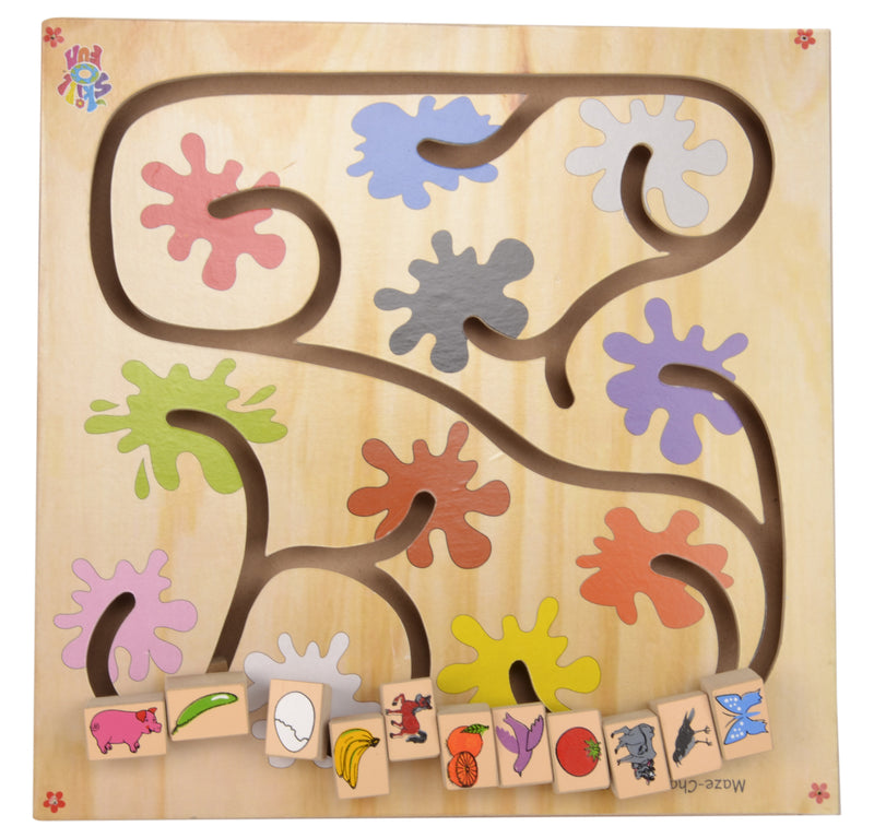 Maze Chase Colors-Toys-THE MUM SHOP
