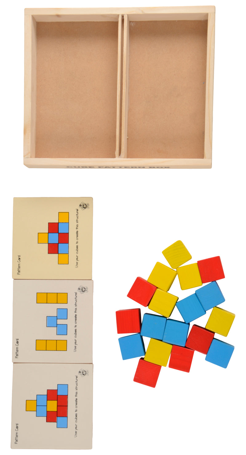 Cubes Pattern Box-Toys-THE MUM SHOP