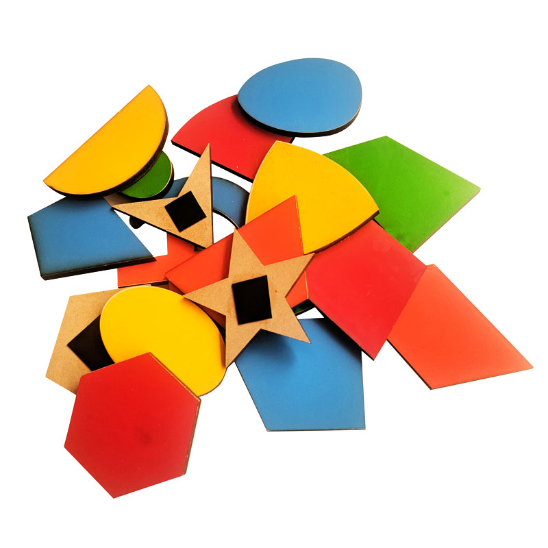 Magnetic Cutouts Shapes-Toys-THE MUM SHOP