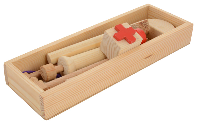 Wooden Doctor Set-Toys-THE MUM SHOP