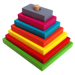Graded Rectangle Tower-Toys-THE MUM SHOP