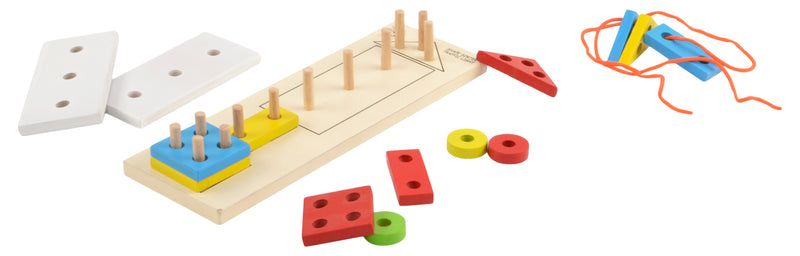 Shape Sorting Board Traffic Light-Toys-THE MUM SHOP