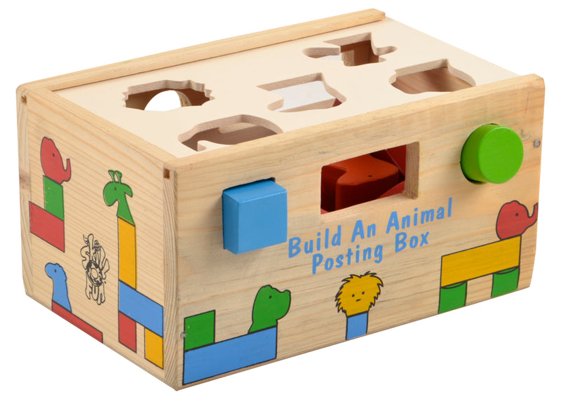Build an Animal Posting Box-Toys-THE MUM SHOP
