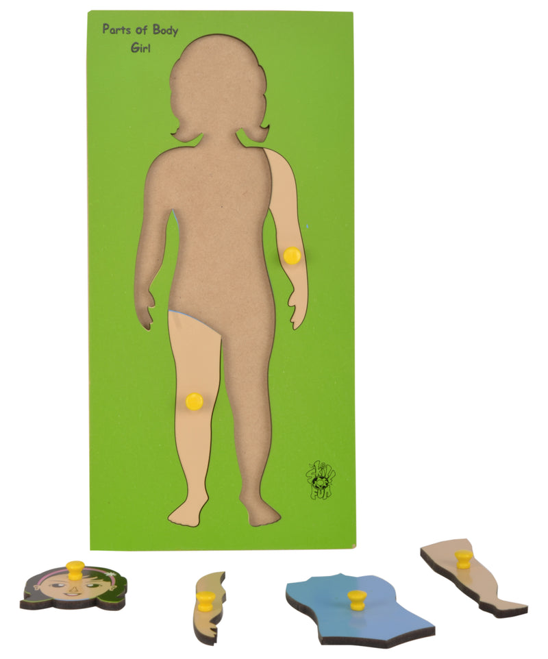 Parts of Body Tray (Girl)-Toys-THE MUM SHOP