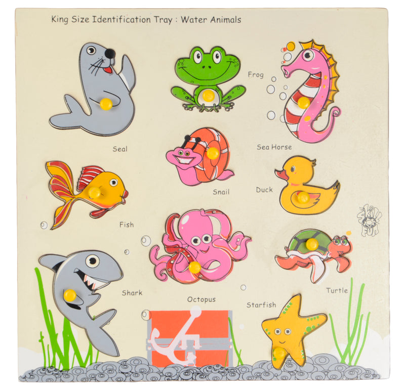 King Size Identification Tray Water Animals-Toys-THE MUM SHOP
