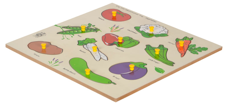 King Size Identification Tray Vegetables-Toys-THE MUM SHOP
