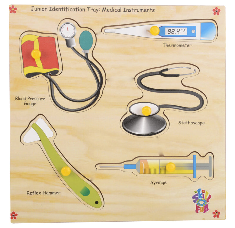 Junior Identification Tray Medical Instruments-Toys-THE MUM SHOP