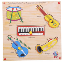 Junior Identification Tray Western Musical Instuments-Toys-THE MUM SHOP
