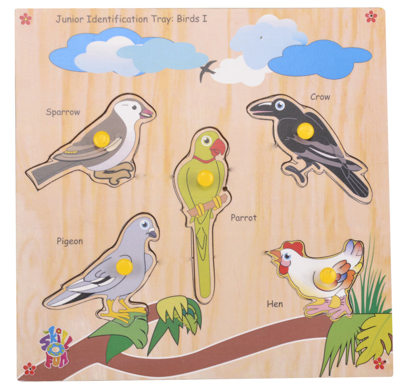 Junior Identification Tray Birds I-Toys-THE MUM SHOP