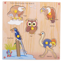 Junior Identification Tray Birds II-Toys-THE MUM SHOP