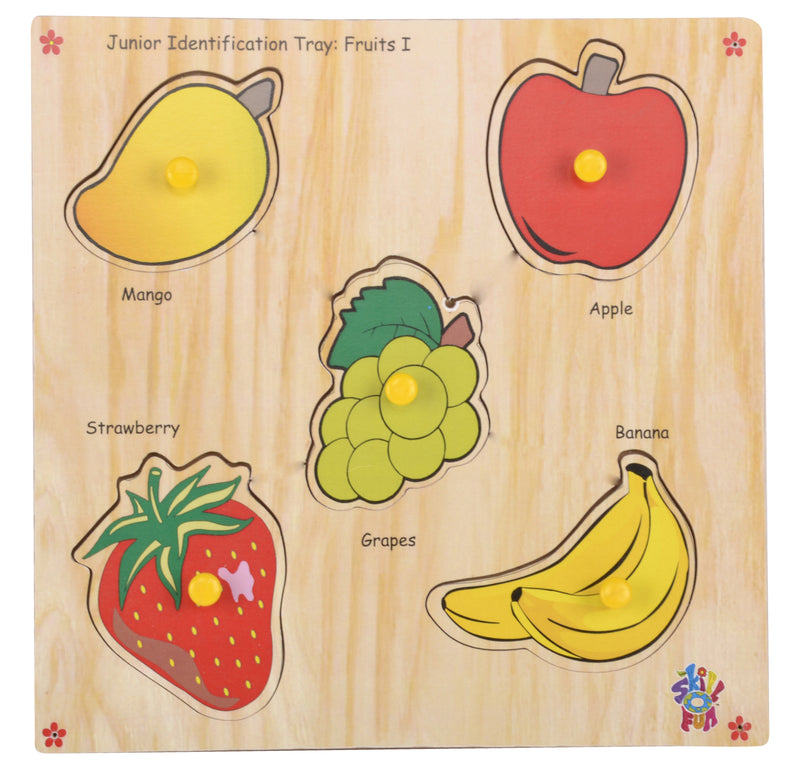 Junior Identification Tray Fruits I-Toys-THE MUM SHOP