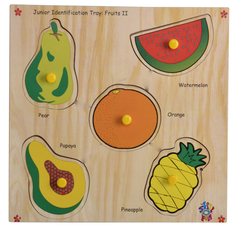 Junior Identification Tray Fruits II-Toys-THE MUM SHOP