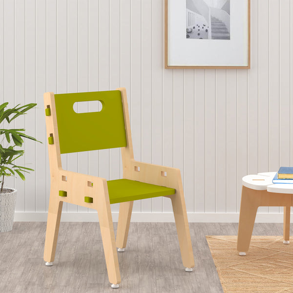 Kids Furniture Sliver Chair - Green