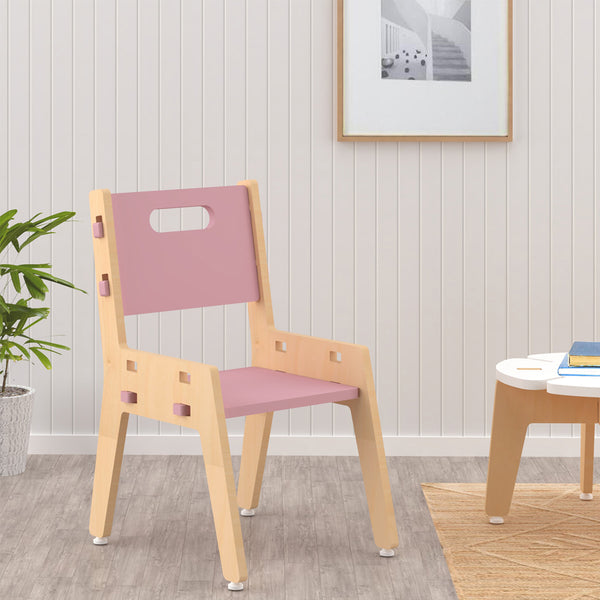 Kids Furniture Sliver Chair - Pink