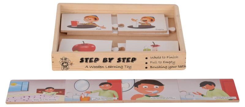 Step By Step Whole To Finish-Toys-THE MUM SHOP